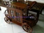 Trolley Kereta Dorong Jati TJ 01 Murah