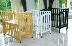 Tempat Tidur Bayi JTB-04 Jati Jepara Furniture