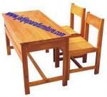 Bangku Sekolah BS-01 Jati Jepara Furniture