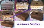 Tempat Tisu Jati Jepara Furniture