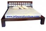 Tempat Tidur Minimalis JTM-06 Jati Jepara Furniture
