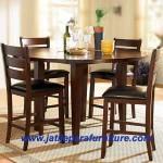 Kursi Makan Cafe KRS-02 Jati Jepara Furniture