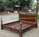 Tempat Tidur Cantik Ukir JTJ-06 Furniture Jepara