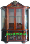 Lemari Hias LH 04 Jati Jepara Furniture