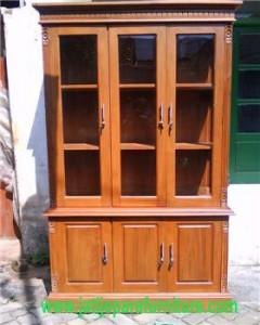 Lemari Arsip Kantor LK-01 Jati Jepara Furniture