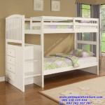 Tempat Tidur Anak Tingkat Putih
