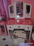 Meja Rias Hello Kitty Model Kupu