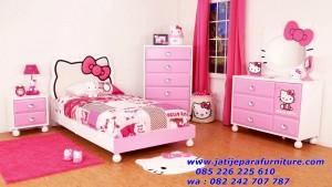 Set tempat Tidur Anak Perempuan Hello Kitty