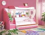 Tempat Tidur Tingkat Anak Warna Pink