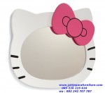 Mirror Hello Kitty Duco Putih