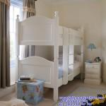 Tempat Tidur Tingkat Duco Putih Jepara